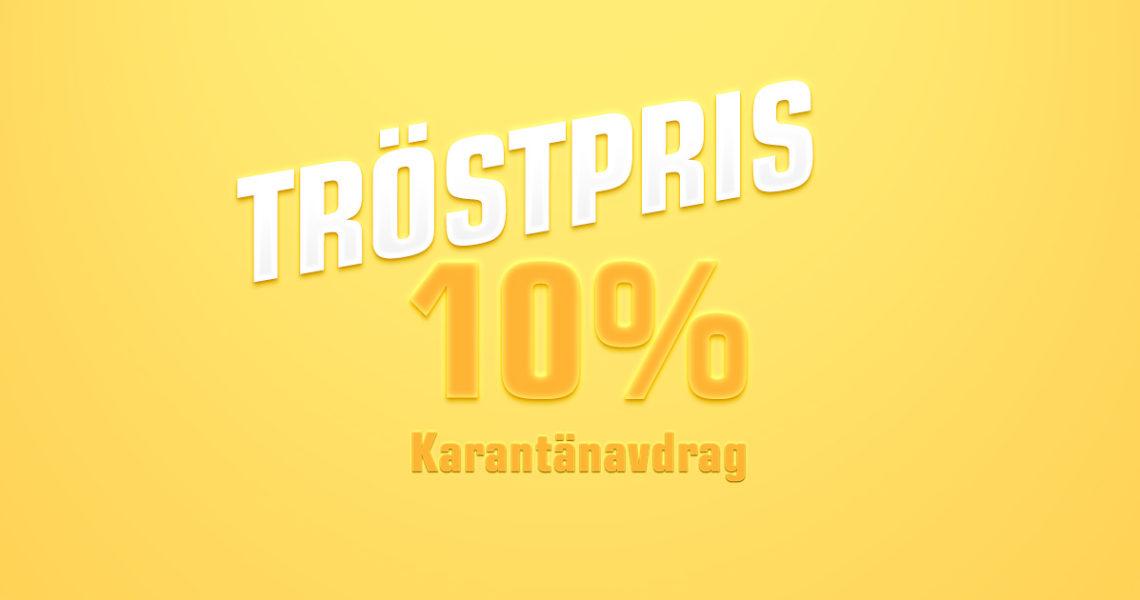 Tröstpris 10%